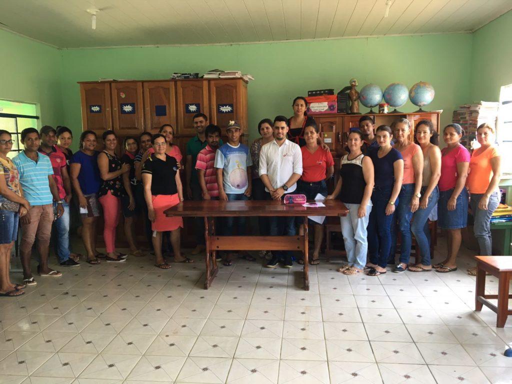 Escolas do município de Campo Novo de Rondônia